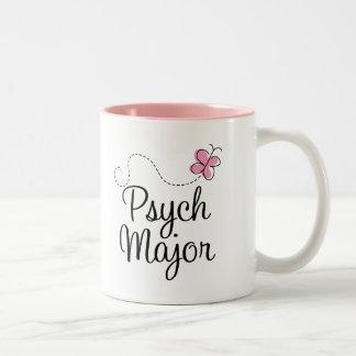 Cute Psych Major Gift Two-Tone Coffee Mug