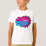Hand shaped Cute Puffer Fish T-Shirt