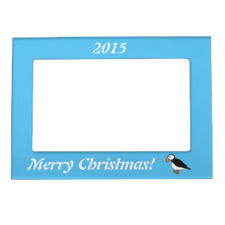 Cute Puffin Magnetic Photo Frames