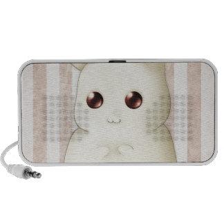Cute Puffy Kawai Bunny Rabbit Portable Speaker