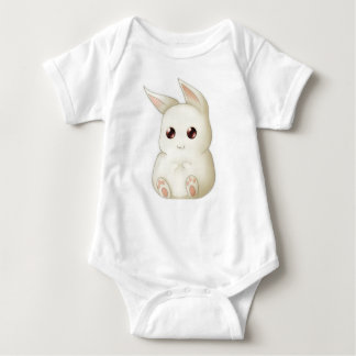 Cute Puffy Kawaii Bunny Rabbit Infant Creeper