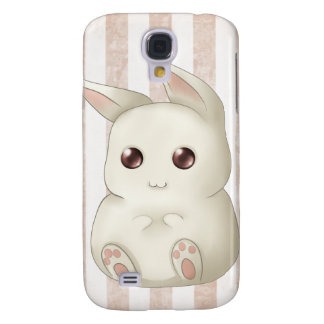 Cute Puffy Kawaii Bunny Rabbit Samsung S4 Case
