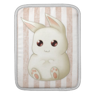 Cute Puffy Kawaii Bunny Rabbit Sleeve For iPads