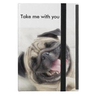 Cute pug case iPad mini case