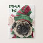 Cute Pug Christmas Puzzle