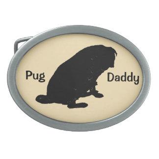 Cute Pug Daddy Belt Buckle
