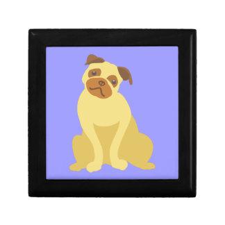Cute Pug Dog Gift Box
