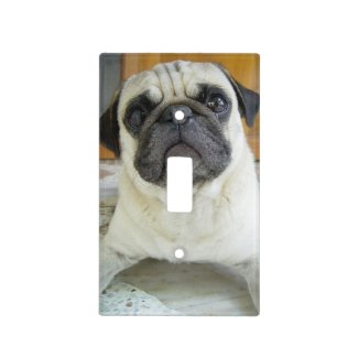 Cute Pug Light Switch Cover