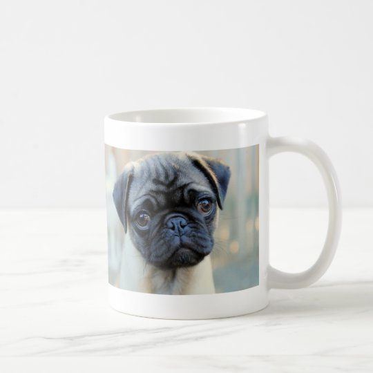 Cute Pug Puppy Coffee Mug