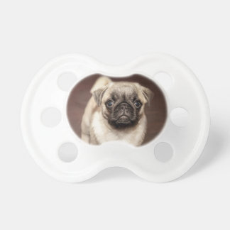 Cute Pug Puppy Pacifier