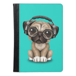 iPad Air Folio Case by Ivoke with Pug Phone Cases design