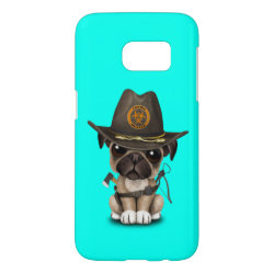 Case-Mate Barely There Samsung Galaxy S7 Case with Pug Phone Cases design