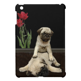 Cute Pug Pups Dog-lovers Gift Series Cover For The iPad Mini