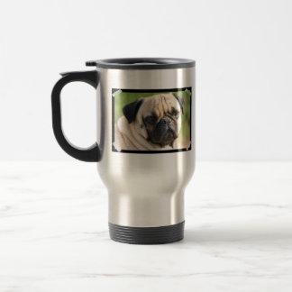 Cute Pug  Travel Mug