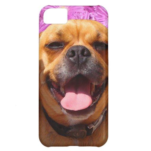 Cute Puggle iPhone 5C Cases