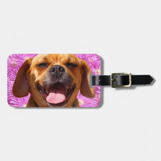 Cute Puggle Tags For Luggage