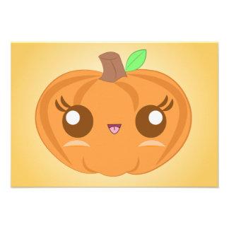 Cute Pumpkin Invitations