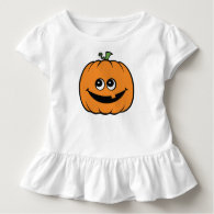 Cute Pumpkin Kids Halloween Shirt