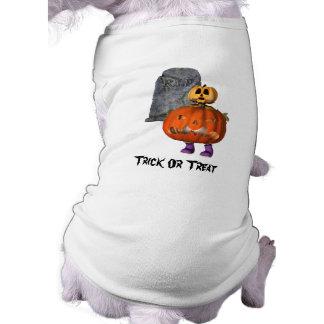 Cute Pumpkin Man Tombstone Halloween Shirt