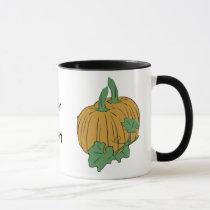 cute pumpkin mug