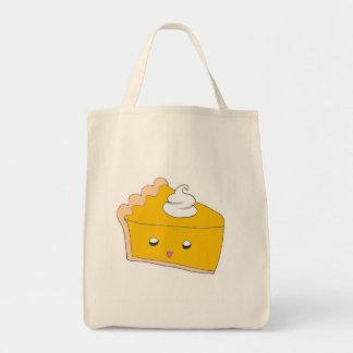 Cute Pumpkin Pie Slice Tote Bag