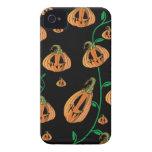 Cute Pumpkins Halloween iPhone 4 Case