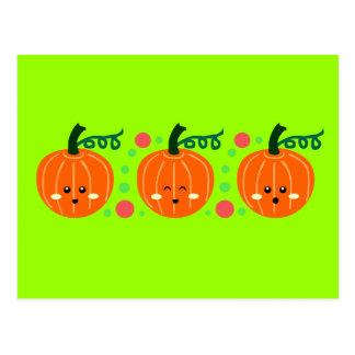 Cute Pumpkins Postcards