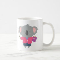 Cute Pun Humor Koala Bear Teacher Coffee Mug