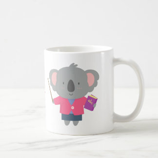 Cute Pun Humor Koala Bear Teacher Coffee Mug
