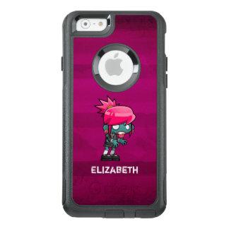 Cute Punk Rock Zombie Girl Illustration OtterBox iPhone 6/6s Case