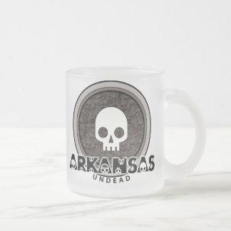 Cute Punk Skull Arkansas Mug Glass