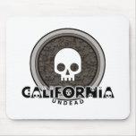 Cute Punk Skull California Mousepad