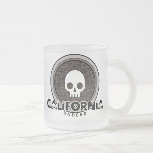 Cute Punk Skull California Mug Glass