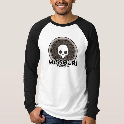 Cute Punk Skull Missouri T-Shirt Jersey