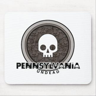 Cute Punk Skull Pennsylvania Mousepad