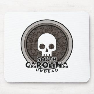 Cute Punk Skull South Carolina Mousepad
