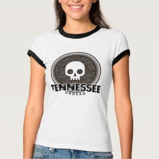Cute Punk Skull Tennessee T-Shirt Ringer