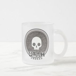 Cute Punk Skull Utah Mug Glass