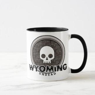 Cute Punk Skull Wyoming Mug