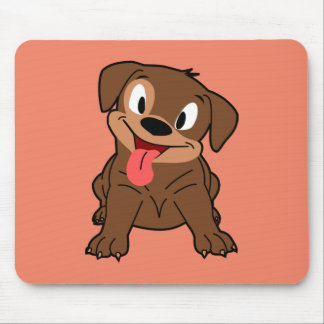 Cute Pup Mouse Pad