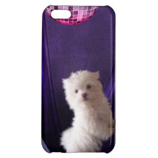 Cute Puppie Dog Disco Dance iPhone 5C Covers