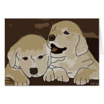 Cute Puppies Greeting Card