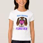 Cute Puppy and Butterfly Best Friends Kids T-Shirt