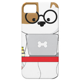 Cute Puppy and Laptop iPhone SE/5/5s Case