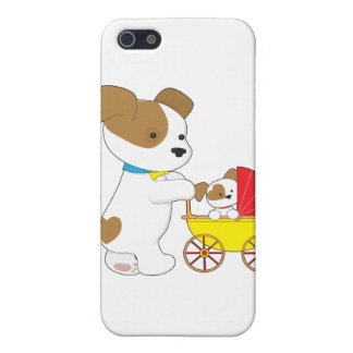 Cute Puppy Baby Carriage Cover For iPhone 5/5S