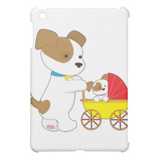 Cute Puppy Baby Carriage Cover For The iPad Mini