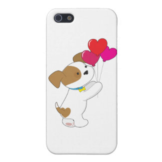 Cute Puppy Balloons iPhone 5 Case