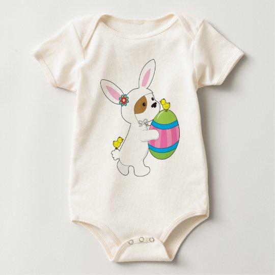 Cute Puppy Bunny Suit Baby Bodysuit