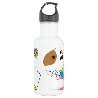 Cute Puppy Bunny Suit Water Bottle