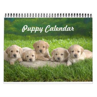 Cute Puppy Calendar